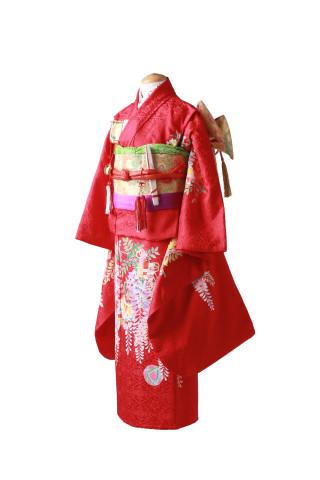 新作衣装(7歳女の子正絹)