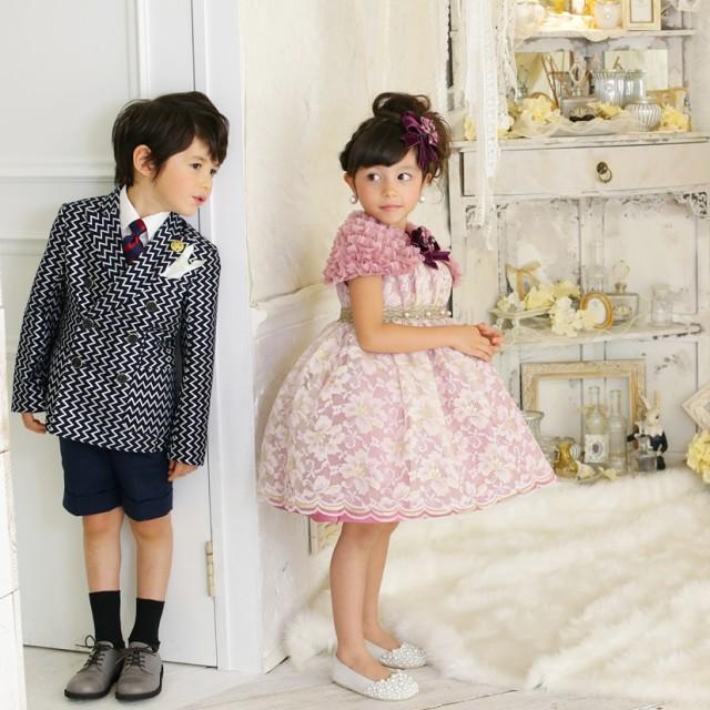 3歳5歳 ドレス&タキシードの衣装画像1