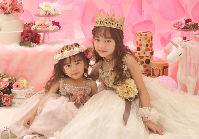 プリンセスドレスの衣装画像1