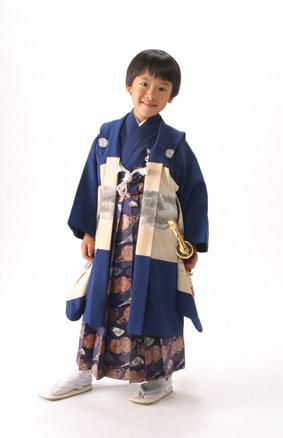 男子7歳袴の衣装画像1