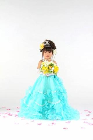 No.918 青ドレス