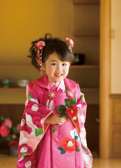 和を極める七五三正絹3歳の衣装画像1