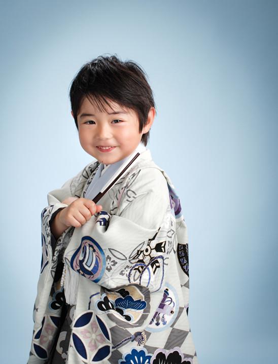 和を極める七五三5歳の衣装画像1