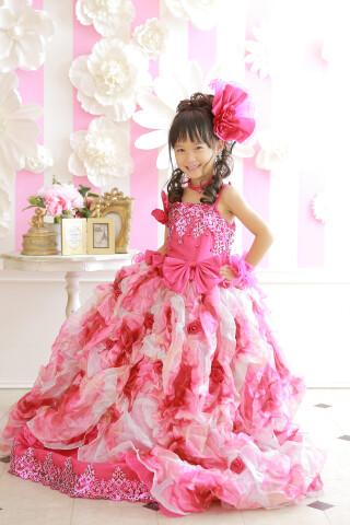 ピンク/ドレス