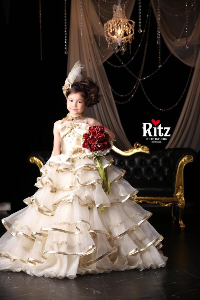 シュガーケイ ゴールド ドレスの衣装画像1