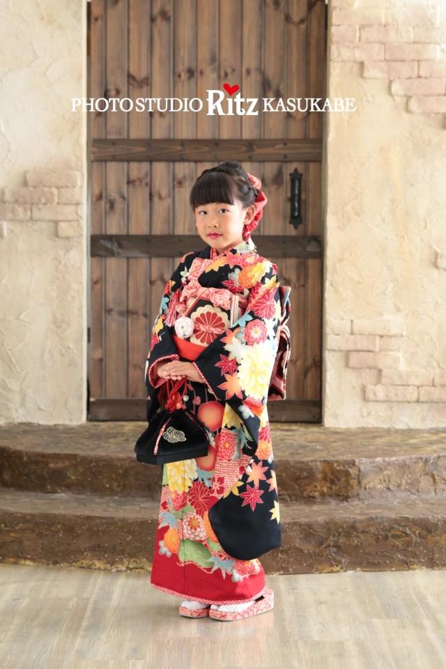 九重 藤本美貴 黒古典の衣装画像1