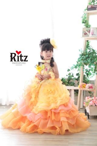 No.2693 シュガーケイ オレンジ ドレス