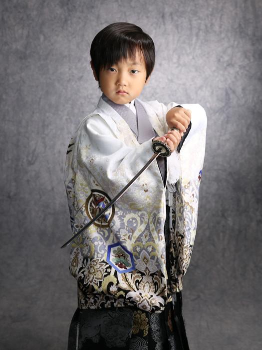 5歳 着物の衣装画像1