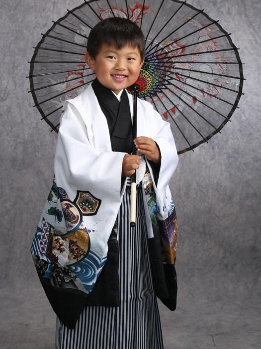 5歳 着物の衣装画像2