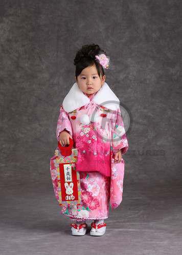 3歳用被布 女児の衣装画像1