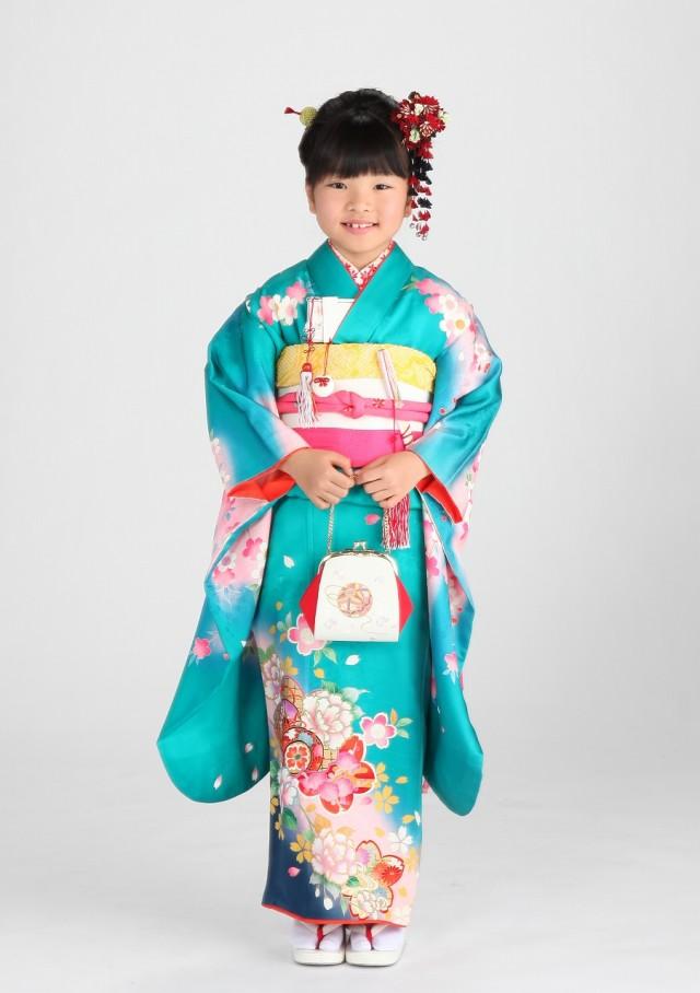 7歳祝着 女児の衣装画像1