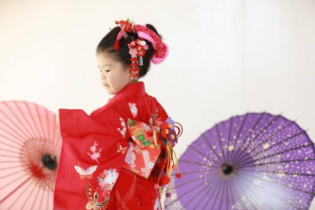 七五三3歳振袖の衣装画像2