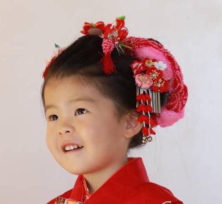七五三3歳振袖の衣装画像3