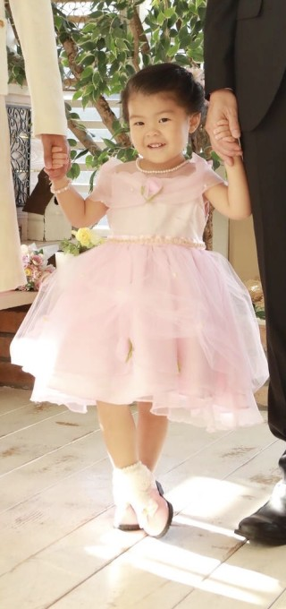 No.4996 七五三3歳ドレス