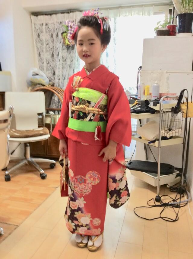 七歳お支度の衣装画像1