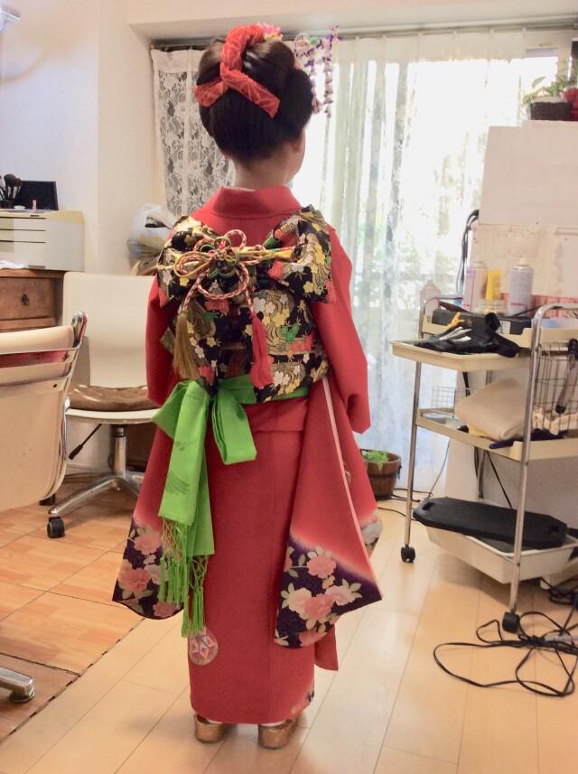 七歳お支度の衣装画像2