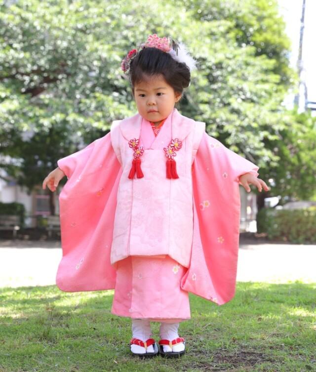 3歳お支度の衣装画像2