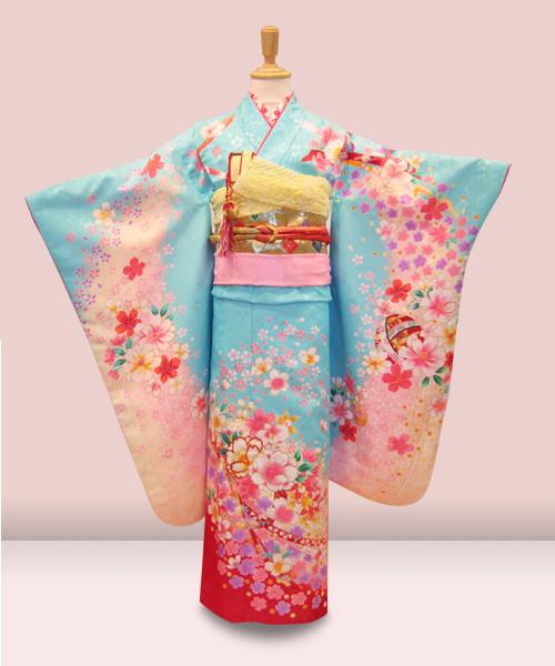 宅配送料(往復)無料 七歳 K2N-030 女児の衣装画像1