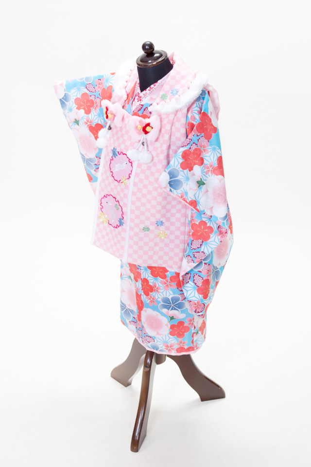 3歳お祝い着の衣装画像1