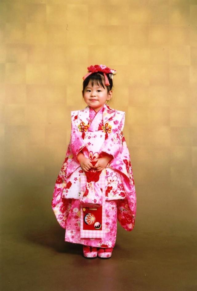 三歳祝着の衣装画像1