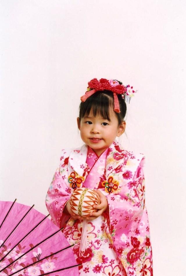 三歳祝着の衣装画像2