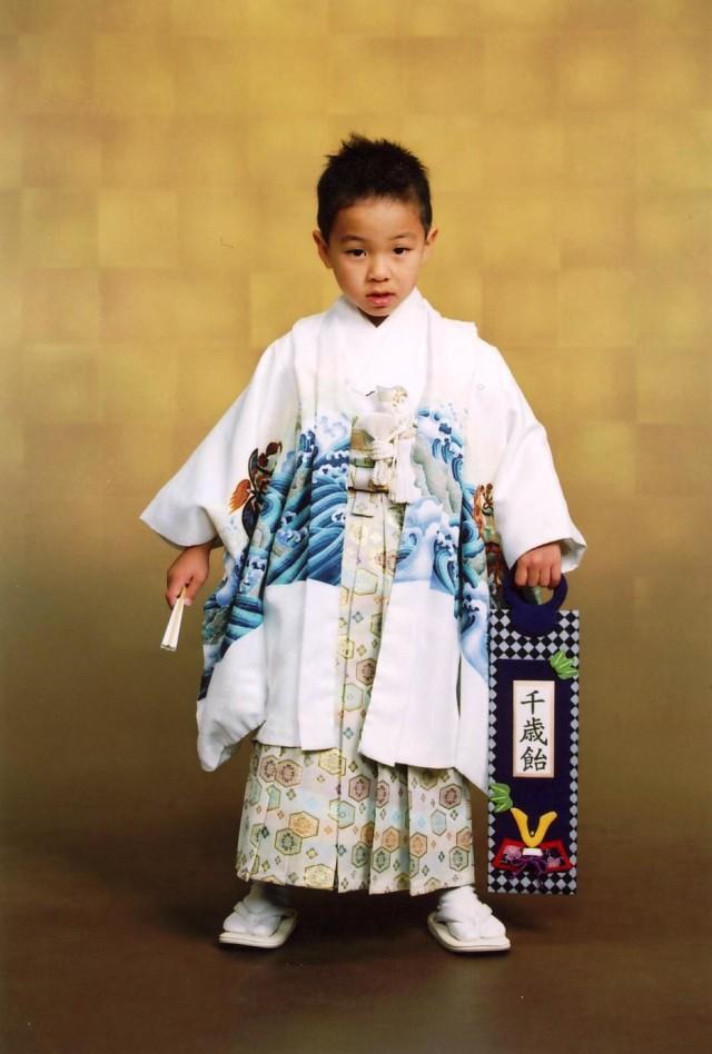 五歳祝い着の衣装画像1