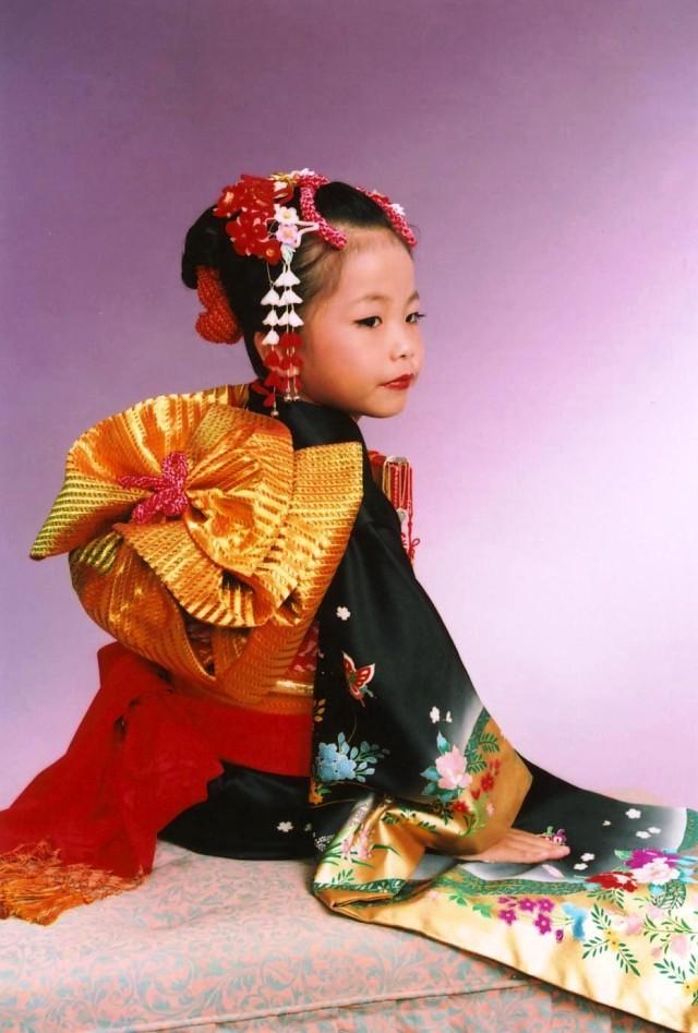 七歳祝着の衣装画像2