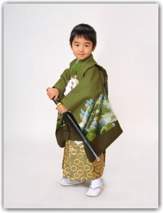 正絹 羽織袴の衣装画像1