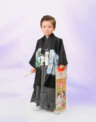 No.909 五歳羽織 袴