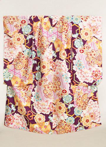 七五三 7歳女児着物の衣装画像1