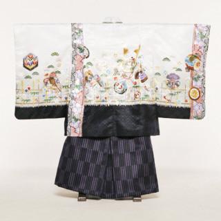 七五三 5歳男児紋付袴