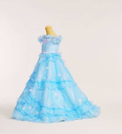 七五三 7歳女児ドレスの衣装画像1