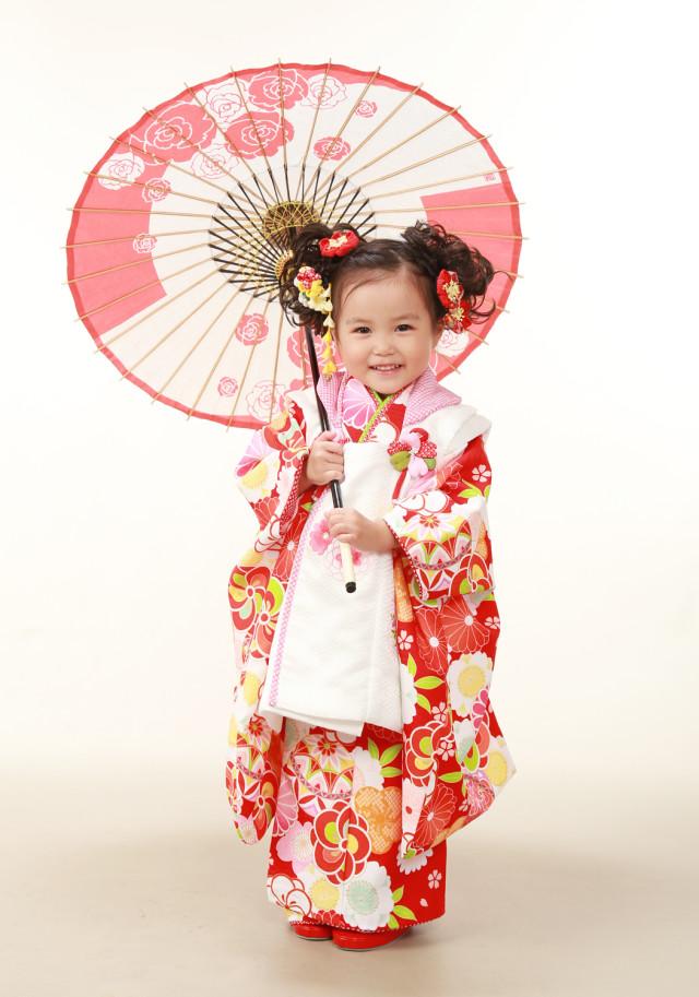 3歳女児 三つ身の衣装画像1