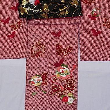 正絹七五三 女児の衣装画像2