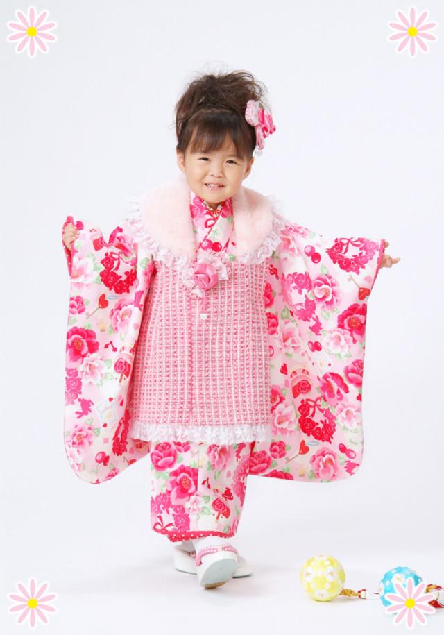 七五三着物 女児の衣装画像1
