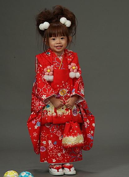 七五三女児着物の衣装画像1