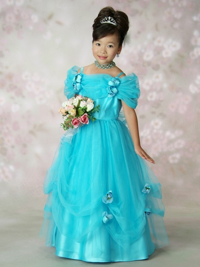 女児ロングドレスの衣装画像1