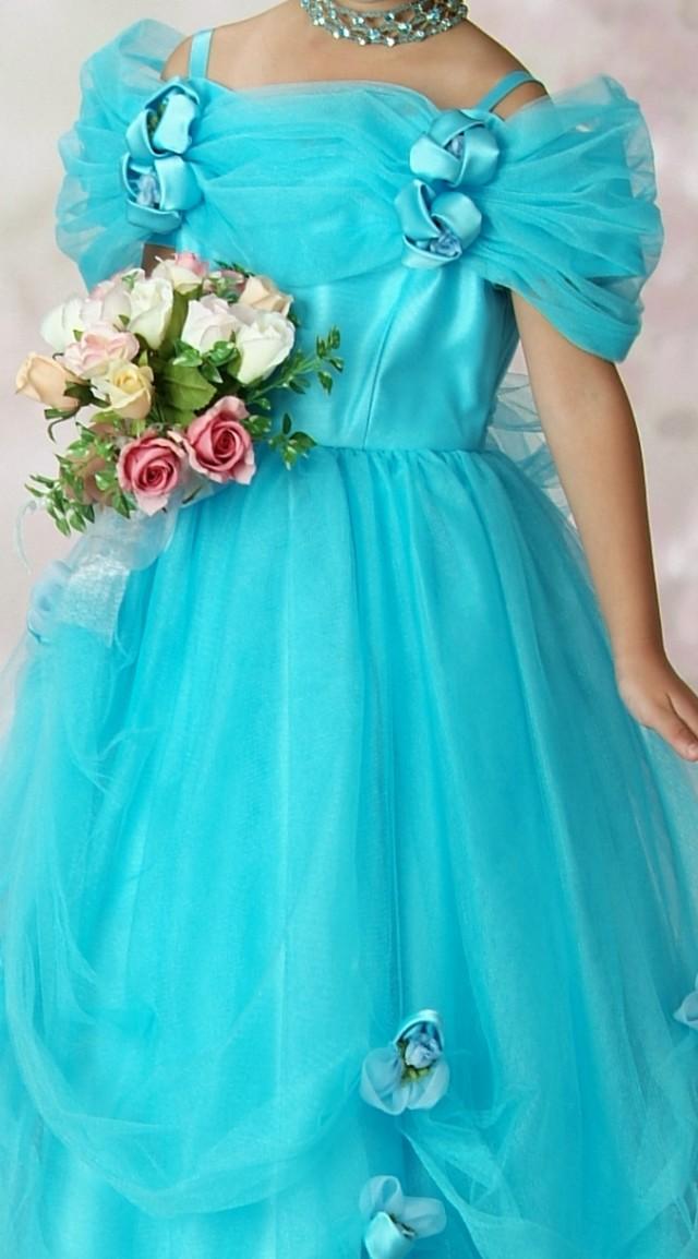 女児ロングドレスの衣装画像2
