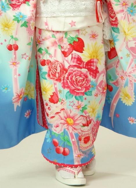 正絹七五三着物 7歳女児の衣装画像2