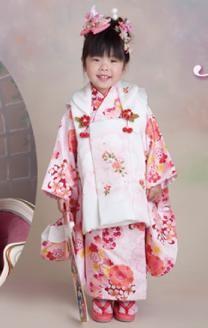 七五三3歳被布セットの衣装画像1