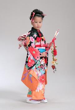 七五三7歳レンタルパック(ヘアメイク着付込)10,800円~の衣装画像1