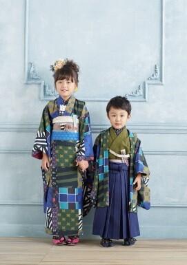 オリジナルパッチワーク着物の衣装画像1
