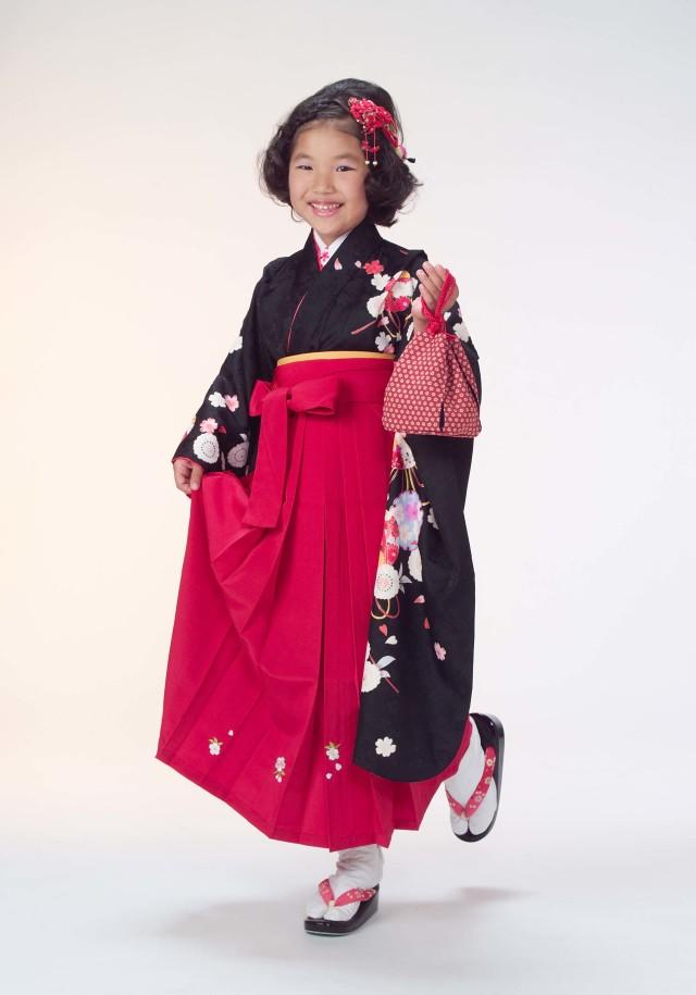 7才 女児袴の衣装画像1