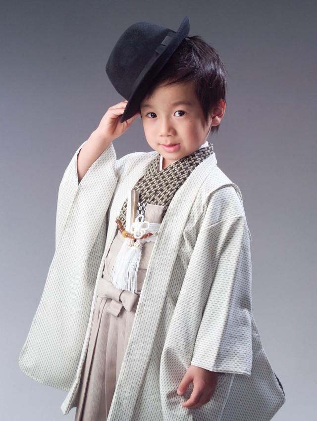 5才 モダン羽織の衣装画像1