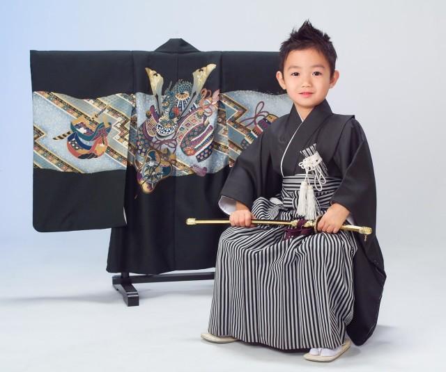 5才 黒羽織の衣装画像1