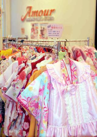 DRESS-UP PHOTO STUDIO Amour 一宮店の店舗画像1