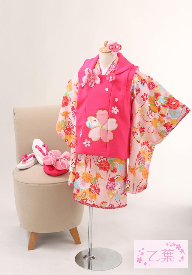 七五三 3歳 女児の衣装画像1