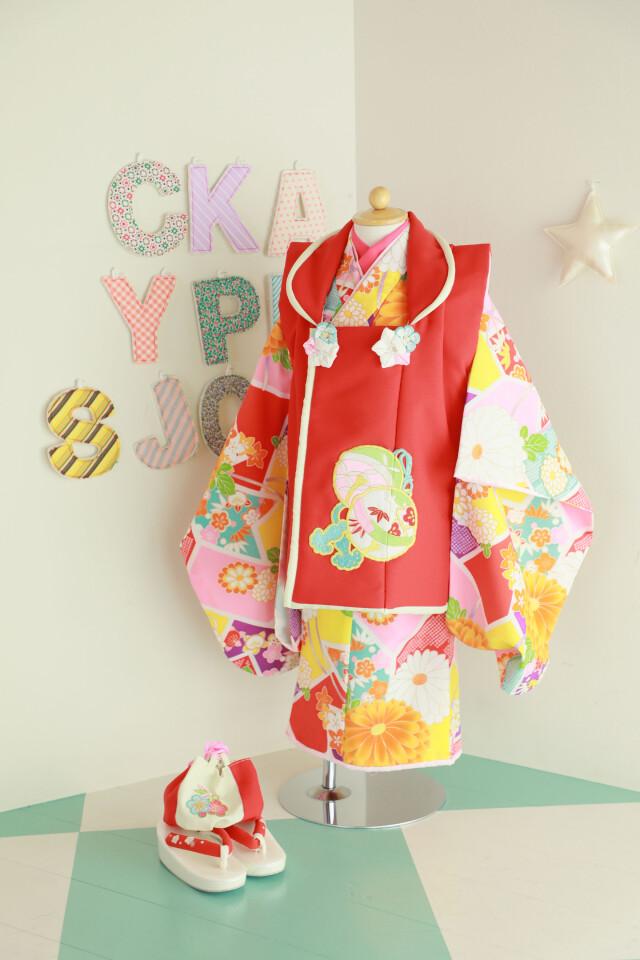 着物 3歳の衣装画像1