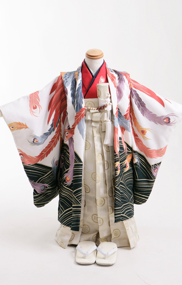 七五三5歳羽織袴の衣装画像1