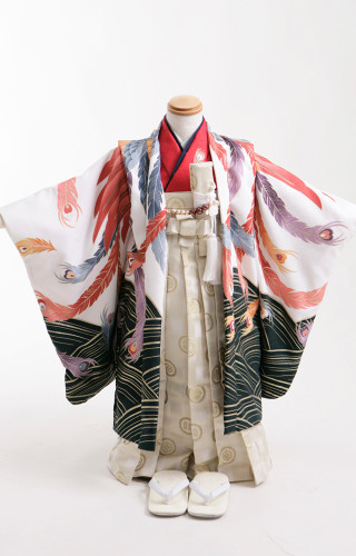 No.553 七五三5歳羽織袴